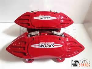 Mini Cooper Brake Kit Bmw Mini Cooper Works Brembo Brake Kit Jcw R56
