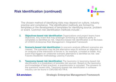 risk framework template enterprise risk management framework