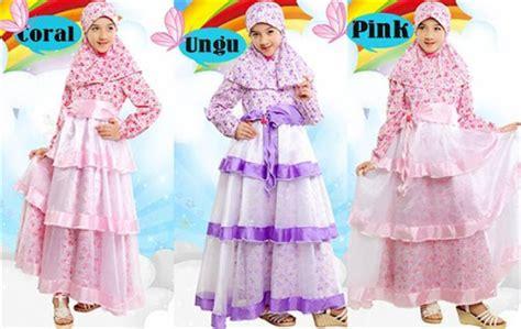 Model Gamis Laki2 21 model baju muslim anak perempuan terbaru 2017 2018