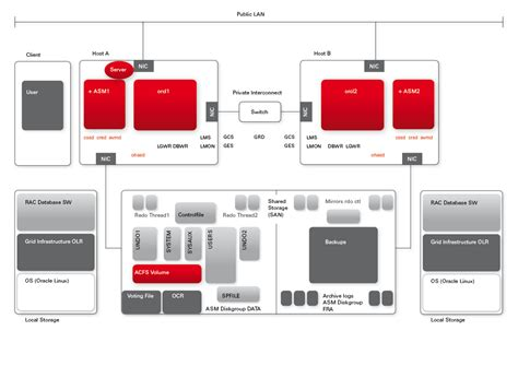 oracle database 11g architecture diagram related keywords suggestions for oracle rac architecture