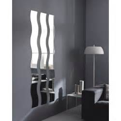 miroir non lumineux d 233 coup 233 vague l 20 x l 160 5 cm vague