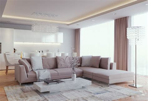 Modern Style Living Room by Luxurious And Living Room Design Classics Meets