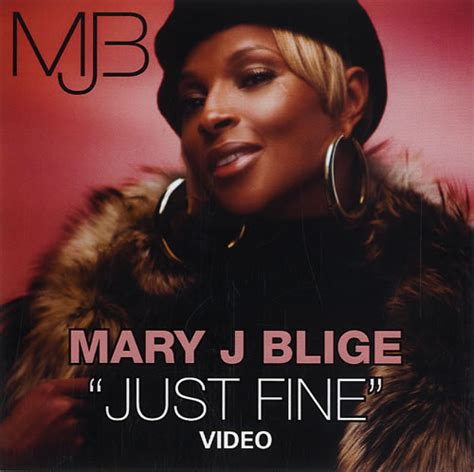 Im To See J Blige by J Blige Just Us Promo Dvd R 461363