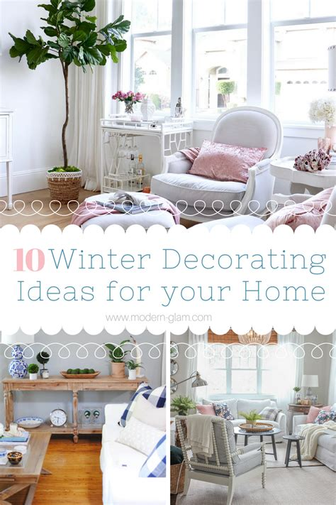 10 winter home decorating ideas winter decorating 10 creative ideas to decorate your home