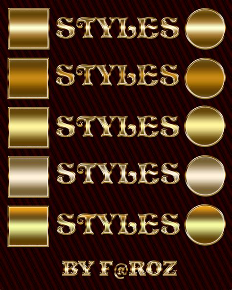 photoshop gold styles free asl file gorgeous gold text photoshop layer styles