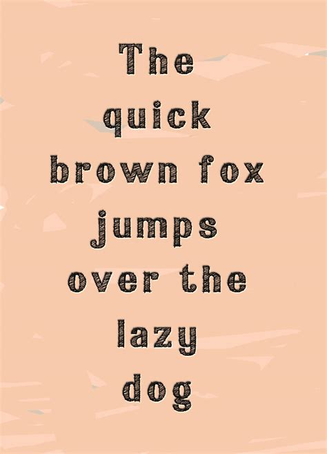 the brown fox jumped the lazy the brown fox jumps the lazy