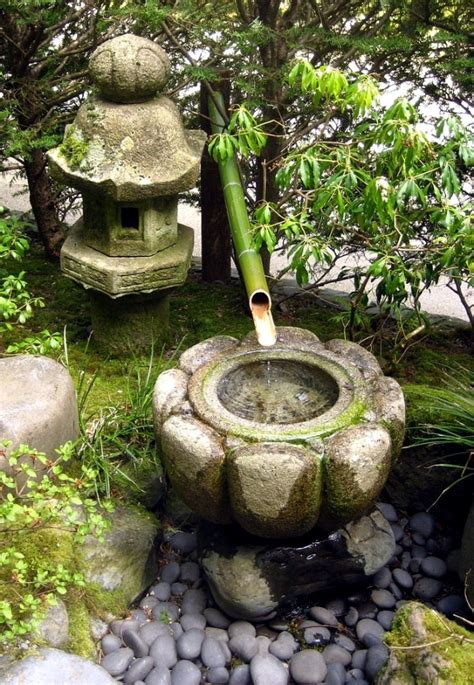 garden stone fountain  ideas  decorative fountains