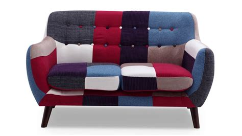 Small Patchwork Sofa - patchwork sofa by home elements ideal for small space
