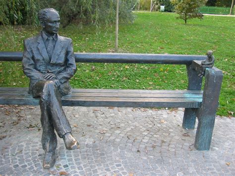 human bench file sit by edvard kocbek on this bench and contemplate
