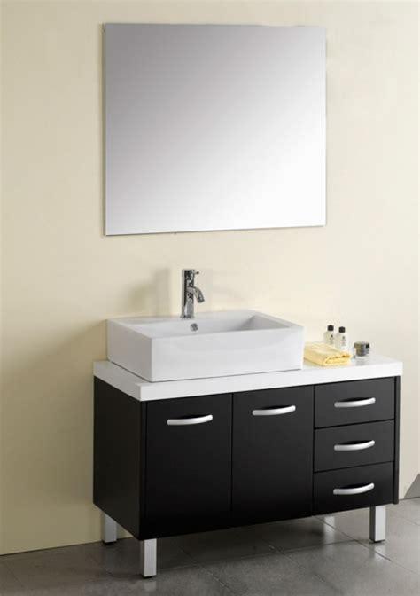 40 Inch Modern Single Sink Bathroom Vanity Espresso with