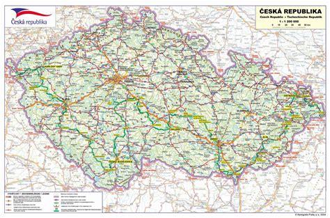 ceska republika mapa ceske republiky