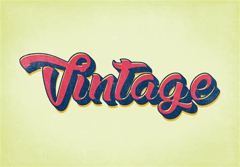 10 free vintage retro style graphics psd psdblast