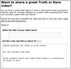 Or Question And Dares Do You Want To Help Out On This Or Website