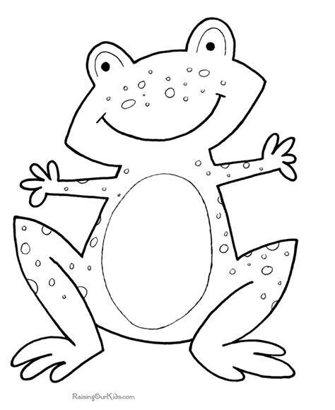 frog pictures for kids to color www proteckmachinery com
