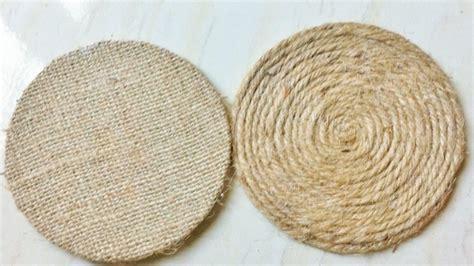 Coasters Diy how to create easy rope coasters diy home tutorial