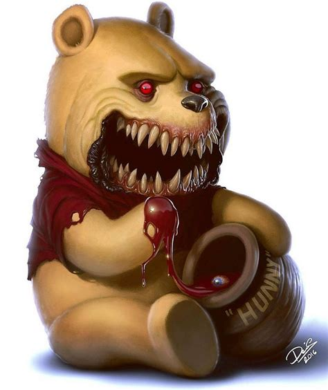 11 favorite childhood cartoon characters turned monsters give nightmares