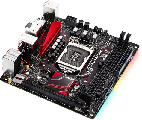 best gaming mini itx motherboard b150i pro gaming aura lga1151 mini itx motherboard no wifi