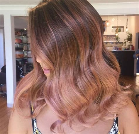 lorenzo brown hair color 65 rose gold hair color ideas for 2017 rose gold hair