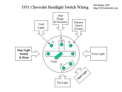 55 chevy headlight switch wiring diagram 54 chevy