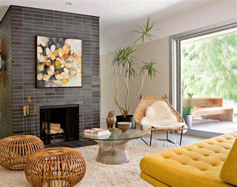 mid century modern fireplace midcentury modern style aphrochic modern soulful