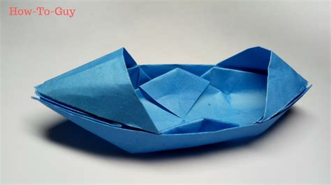 Origami Boat That Floats - how to make a paper boat origami paper boat that floats