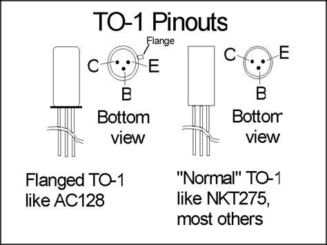 transistor ac128 equivalent ac128 pinout