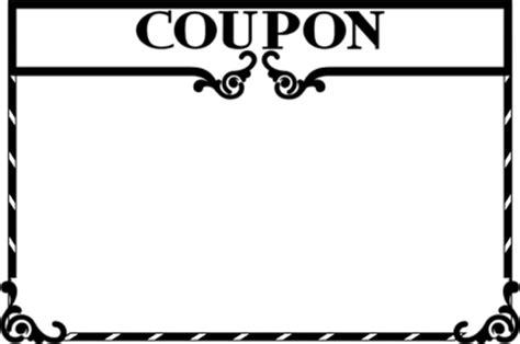 coupon clip art clipart best