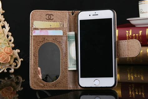 Flip Mirror Transparan Bening Book Cover Casing Iphone 6 55 Inch buy wholesale best mirror chanel folder leather book flip holster cover for iphone 7