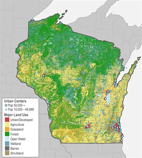 wi dnr land map putting rural wisconsin on the map wiscontext