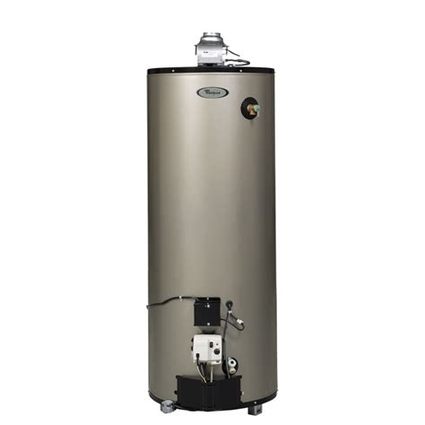 Waterhetaer Gas shop whirlpool 50 gallon 12 year residential gas water heater energy at lowes