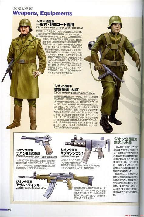 Jaket Gundam Unicorn E F S F Army Canvas Ja Gdu 07 principality of zeon gundam and dresses