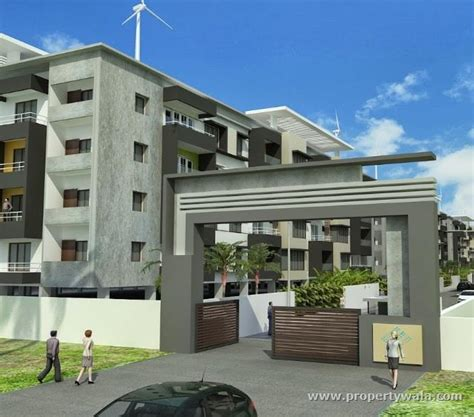 Concrete Homes Plans crescentz wind gates valasaravakkam chennai