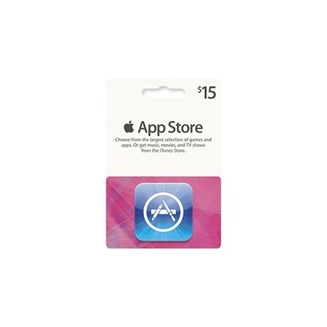 apple gift card apple 15 app store gift card d6001lla best buy