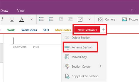 Onenote New Section by Sort Out Your Microsoft Onenote Notes And Organise Them By