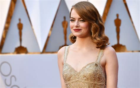 emma stone yearly income emma stone male co stars have taken pay cuts to ensure