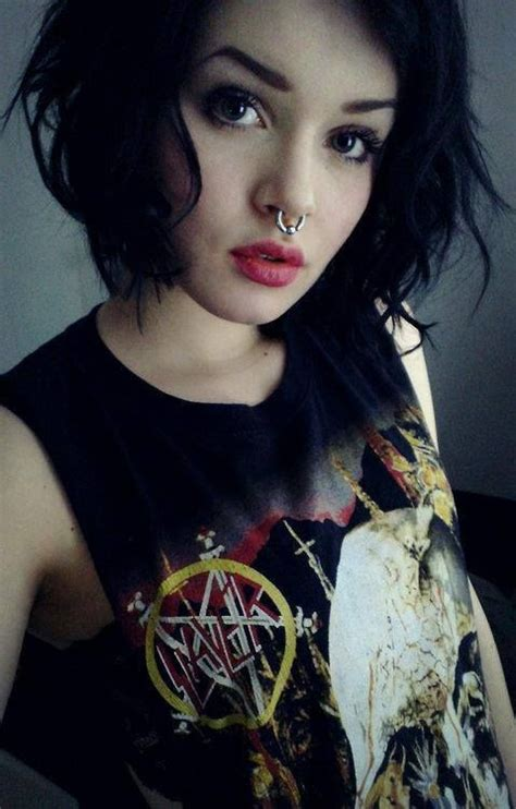 female rock singers with short hair beautiful nice and leather on pinterest