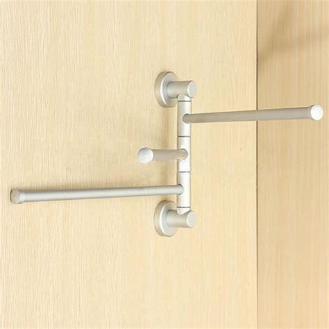 Swivel Towel Rack by 3 Arm Aluminium Towel Rack Wall Mounted Bathroom Swivel