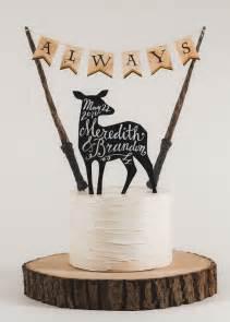 items similar to always harry potter inspired wedding cake topper on etsy
