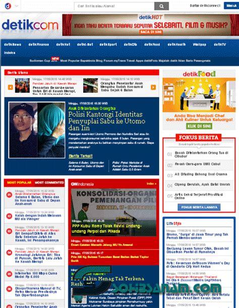 detik jakarta 14 situs berita terkini online terpopuler di indonesia