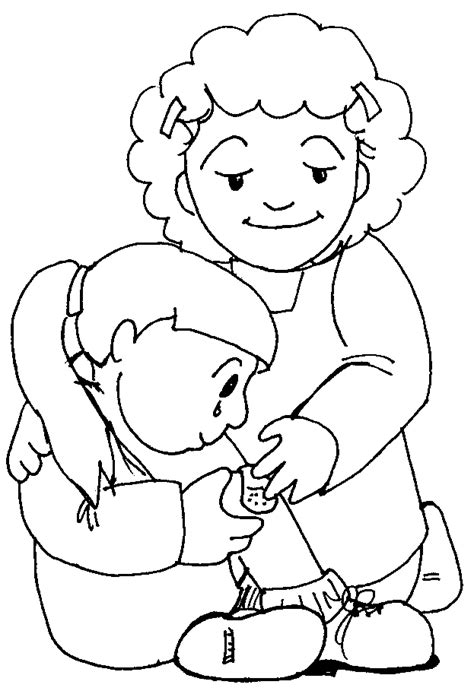 Kindness Coloring Page   Coloring Home