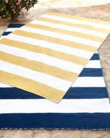 rugby stripe indoor outdoor rug