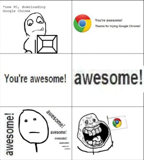 Google Memes - funny memes funny meme google chrome why i like chrome