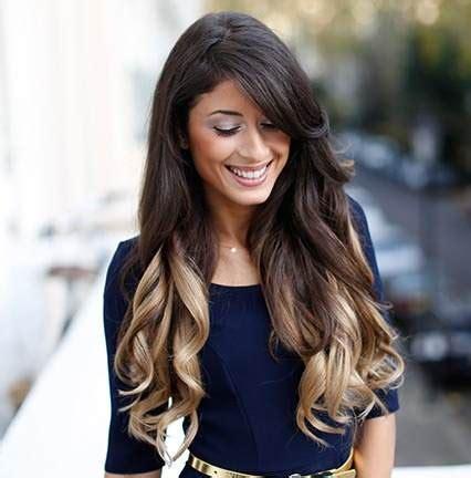 dye bottom hair tips still in style la moda en tu cabello mechas californianas verano 2016