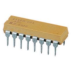 bourns resistor network 8 dil rapid