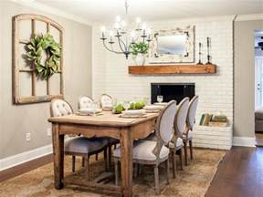 the dining room room from fixer upper