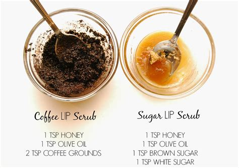 diy easy lip scrubs for oh so lindsay new year new