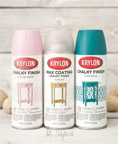 diy chalk paint flat or satin krylon chalk finish paint sprays paint and chalk spray