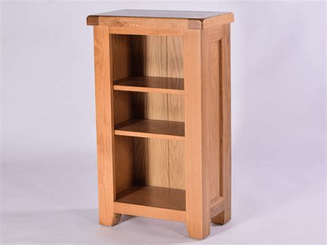 malvern oak small bookcase solid oak furniture oakea