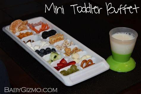 mini buffet how to make a toddler mini buffet