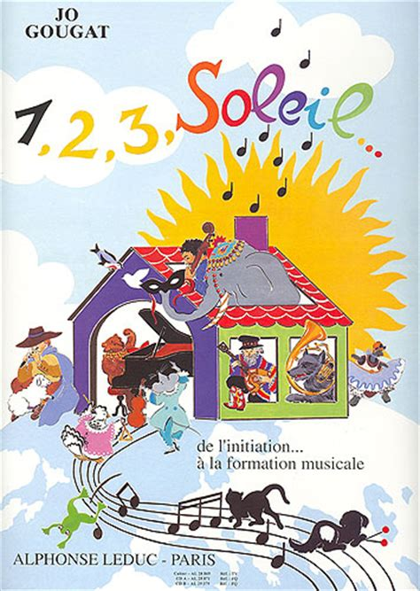 0043057462 exercices de formation musicale partitions 1 2 3 soleil de l initiation 224 la